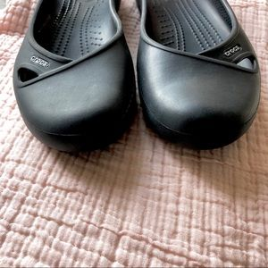 CROCS Shoes - Crocs Black Mary Jane Sling Back Size 8 M